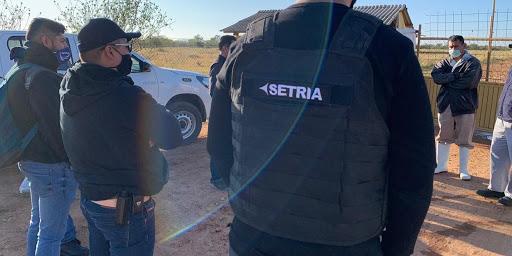SETRIA, Seguridad privada altamente confiable